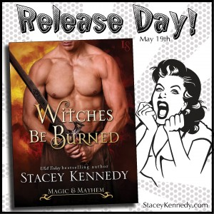 Witches Be Burned Release Day