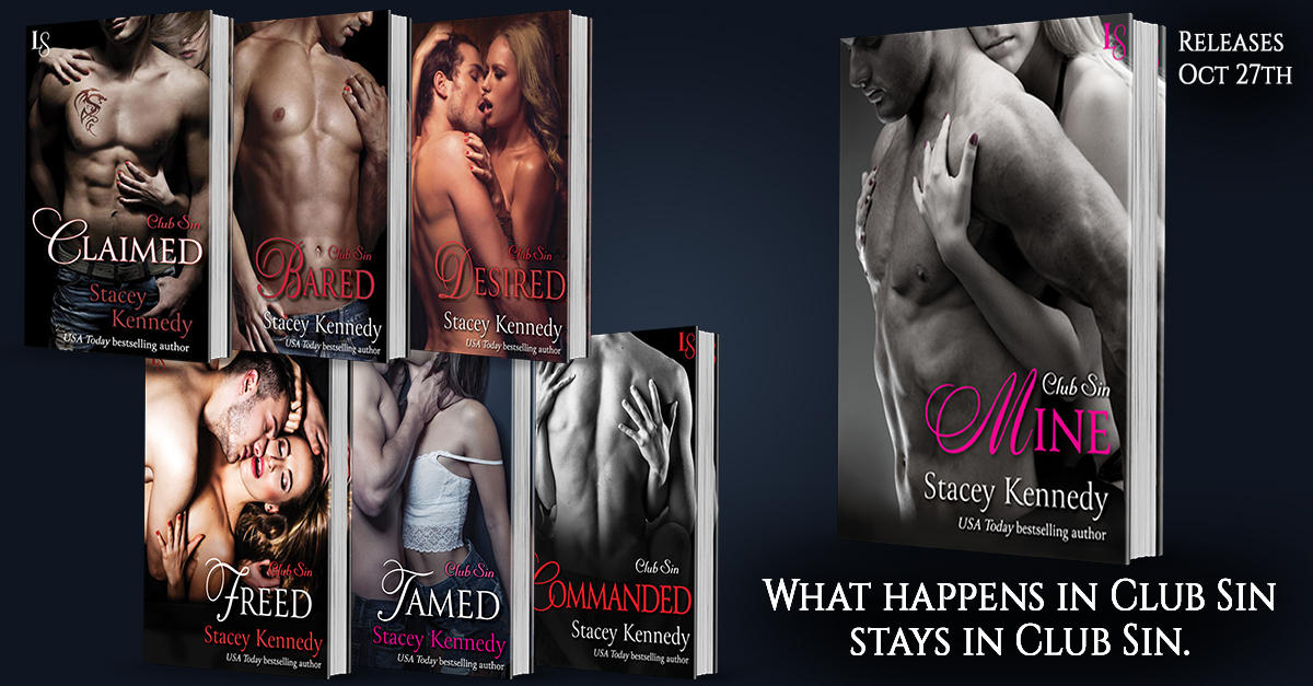 Mine - FB Ad - Club Sin Series books 1-7 release