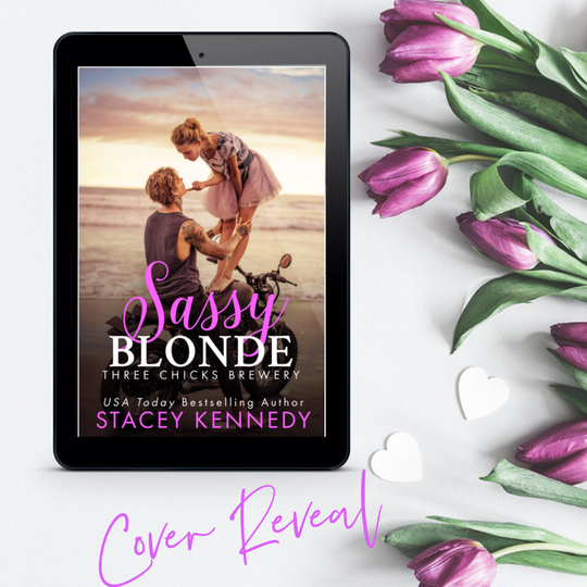 Cover reveal: SASSY BLONDE