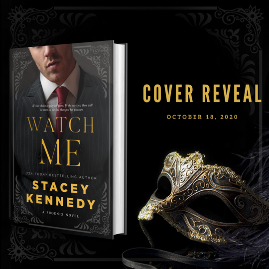 Cover Reveal: Watch me
