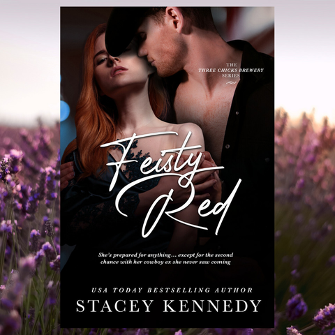 Feisty Red cover reveal!