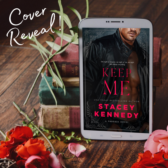 Keep me cover reveal!