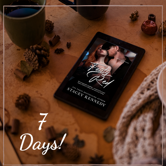 Cowboy Up! Feisty Red is only 7 days away. Read Chapter 1 now.